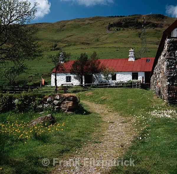 Munro's house, Auchindrain crofting museum, Inveraray - Highland