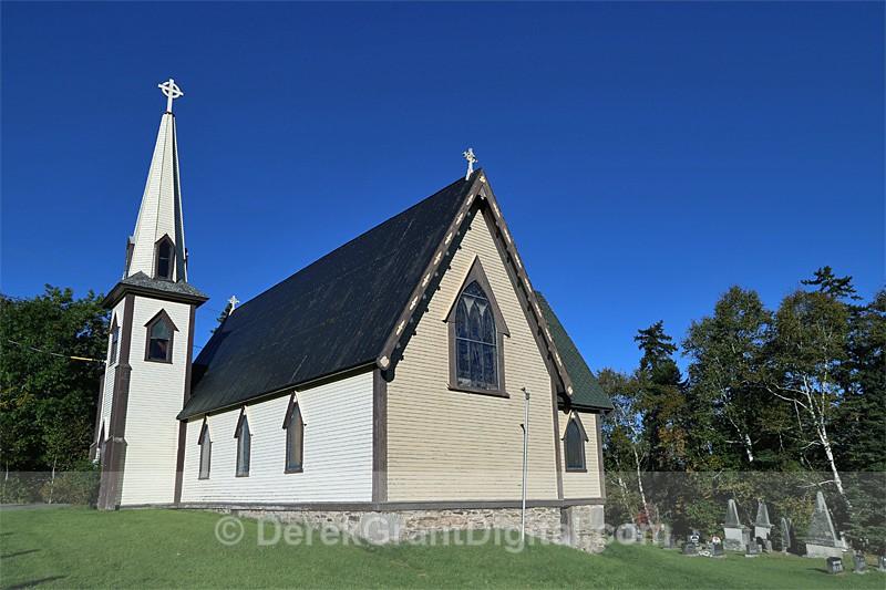 St. Stephen's Anglican Church Queenstown New Brunswick Canada - Churches of New Brunswick