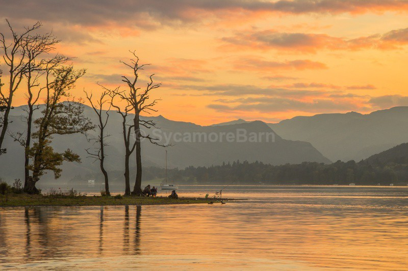 Evening Fishing on Ullswater, Lake District - Dawn to Dusk Gallery