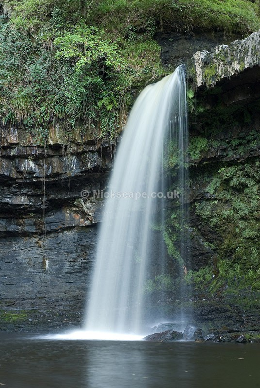 Sgwd Gwladys Waterfall in the Brecon Beacons | Landscape Photography from Wales