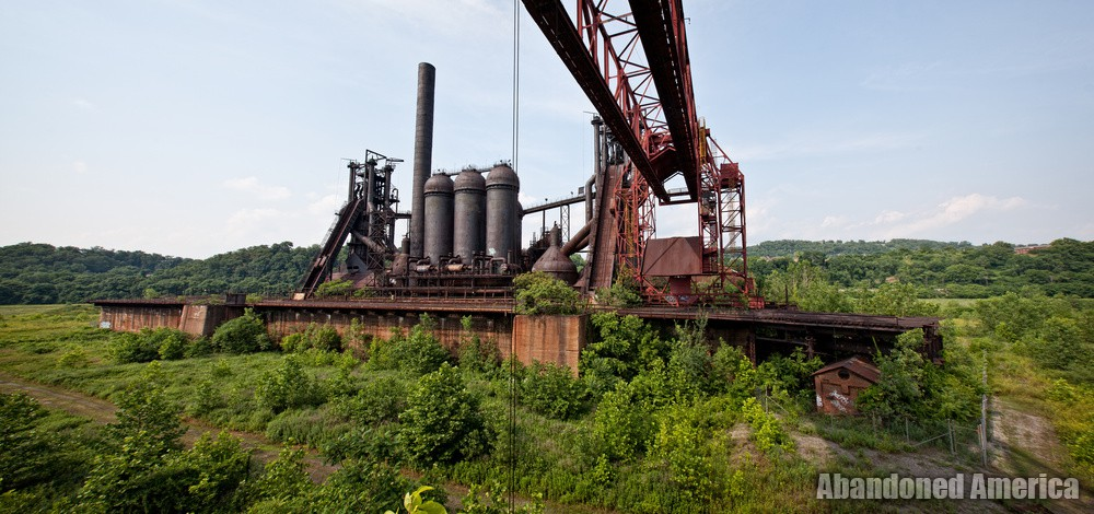 Carrie Furnaces (Rankin, PA)   until the day I die - Carrie Furnaces