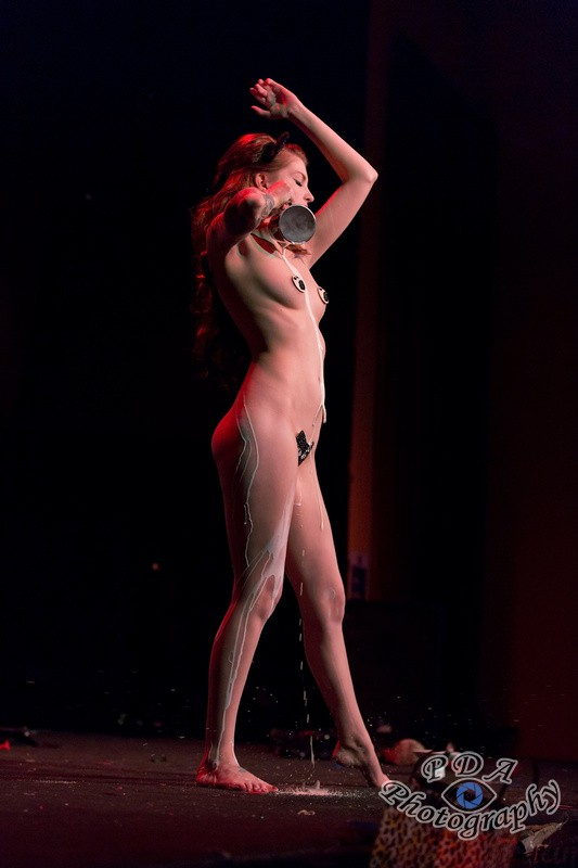 25 Millie Dollar in Burlesque Show Born to be Wild