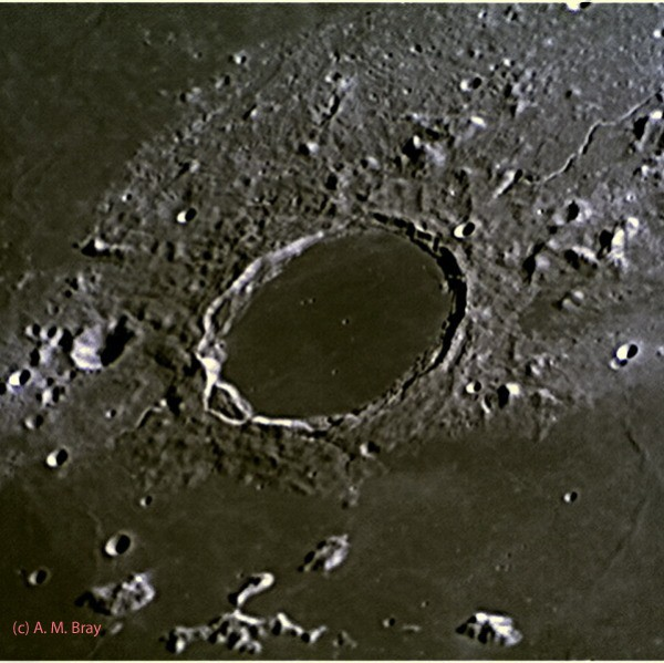Plato Region - Moon: North Region