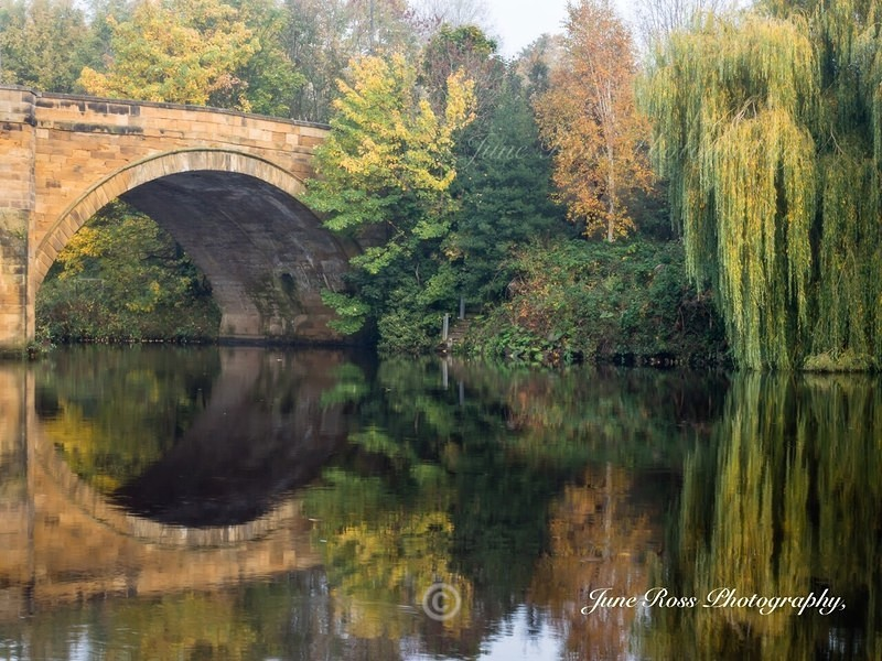 Reflections of Yarm on Tees - YARM-on-Tees, Cleveland