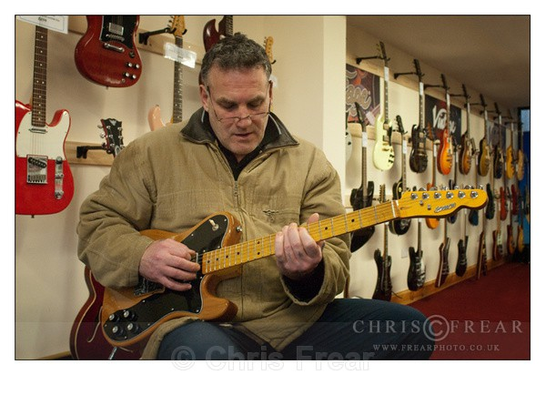 Guitarist - Location Portraits