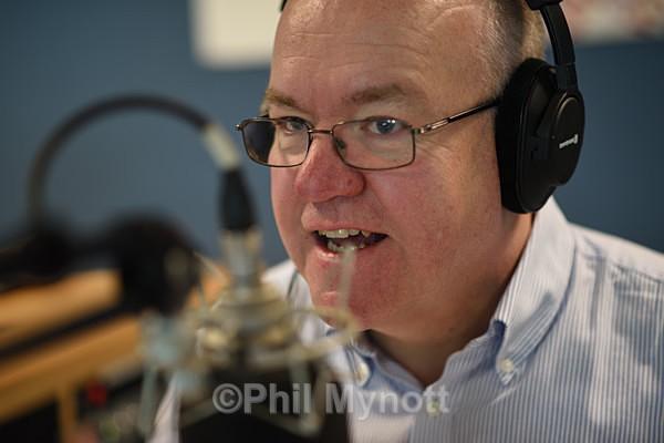 BBC  Broadcaster presenter photos TV Radio studio UK photographer Cambridge Gerald Main