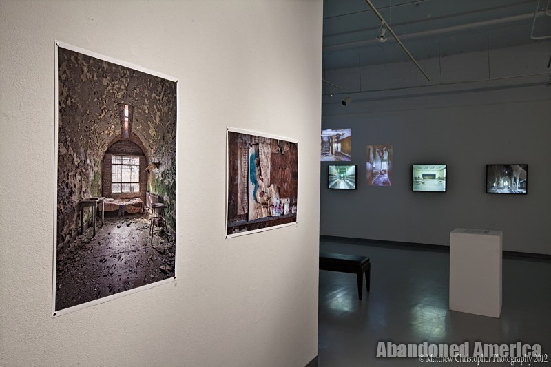 'the age of consequences' Exhibit at Rochester Institute of Technology's SPAS Gallery by Matthew Christopher Murray's abandoned america