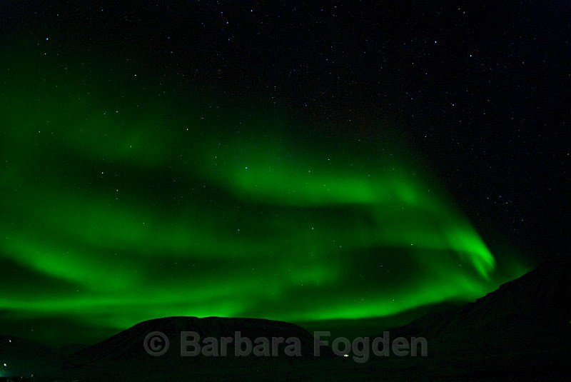 Northernlight 1875 - Colours of Svalbard