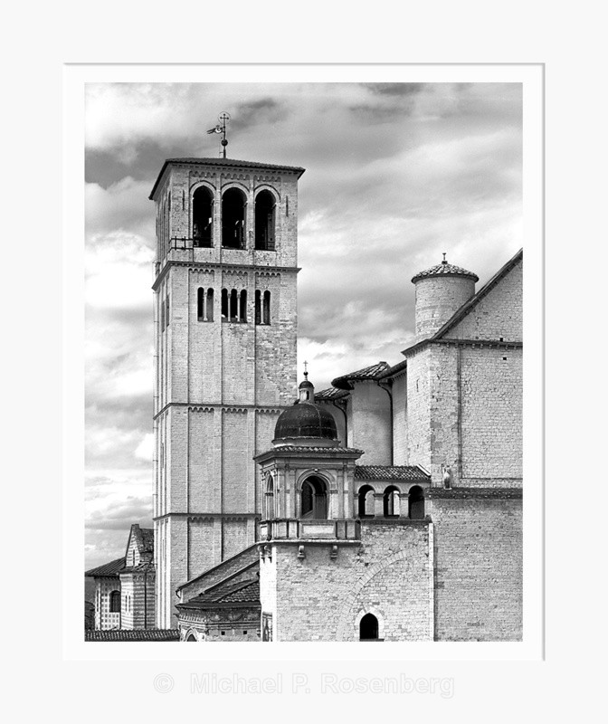 Bell Tower of Domo Assissi, Assissi Italy (5512) - Europe