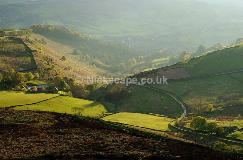 Mitchell Field from Higger Tor - Peak District Landscape Photography Gallery