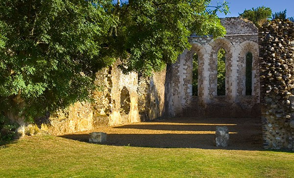 Waverley Abbey - Places