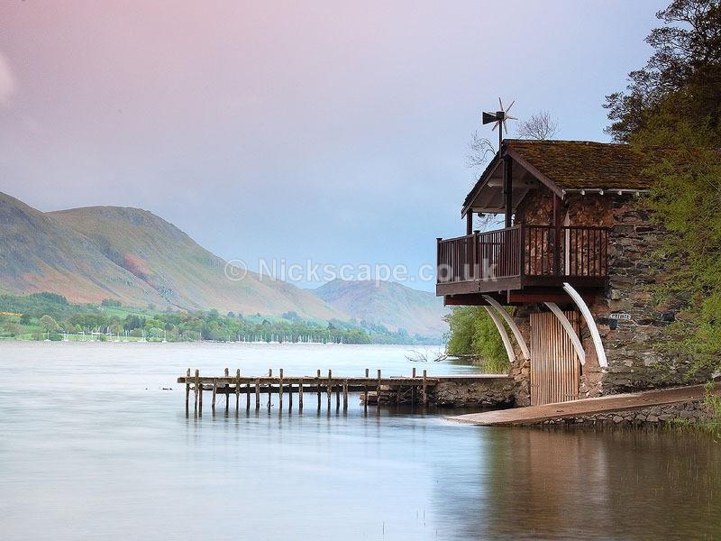 Pooley Bridge Boat House - Ullswater   Lake District Landscape Photography