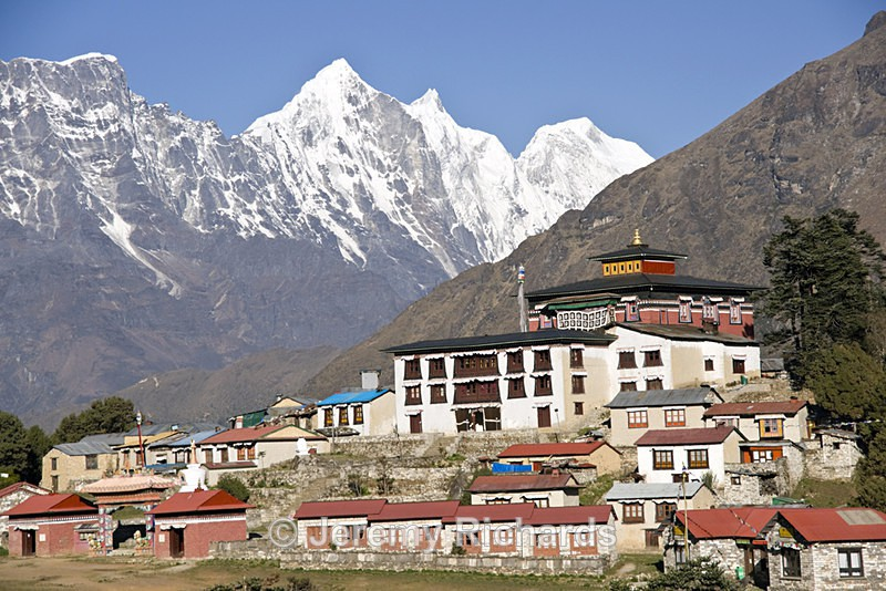 Monastery in the Mountains - Nepal
