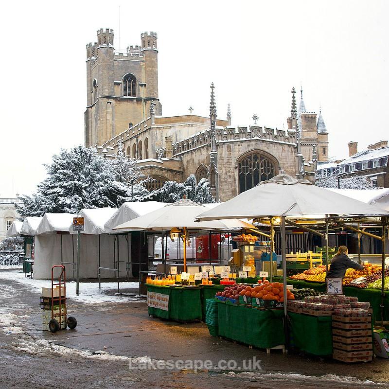 Great St Mary's Church & Market Hill, Cambridge_6050 - Cambridge