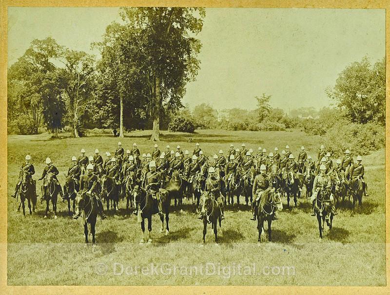 Unidentified Regiment St. John New Brunswick Canada - Historic New Brunswick