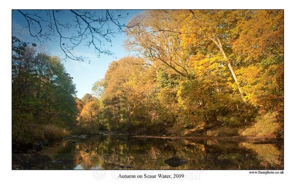 Autumn on Scaur Water, 2009 - Scaur Valley