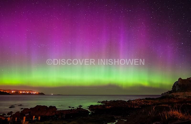 Culdaff Bay - Aurora Borealis (Northern Lights)