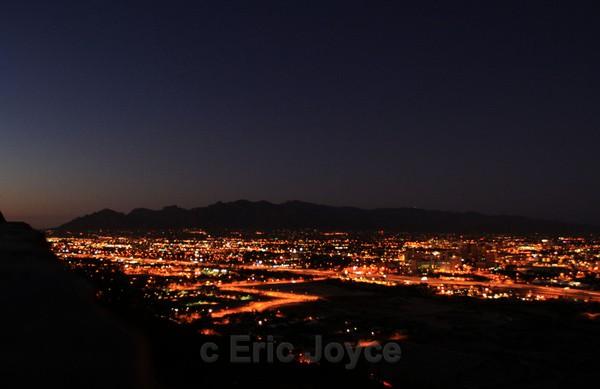 Tucson at Dusk II - Tuscon, Arizona