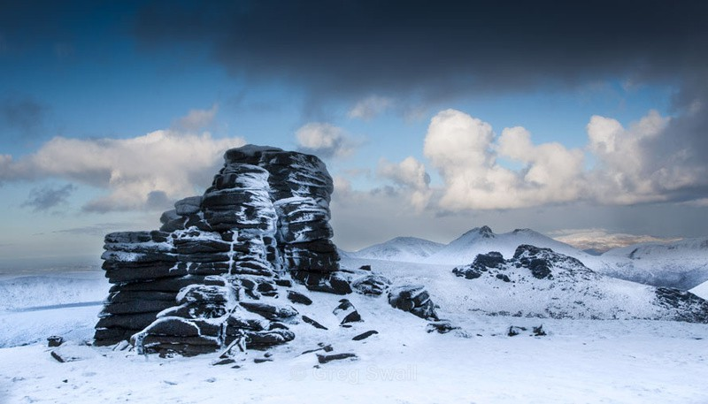 Mourne snow - The Mourne Mountains (Winter)