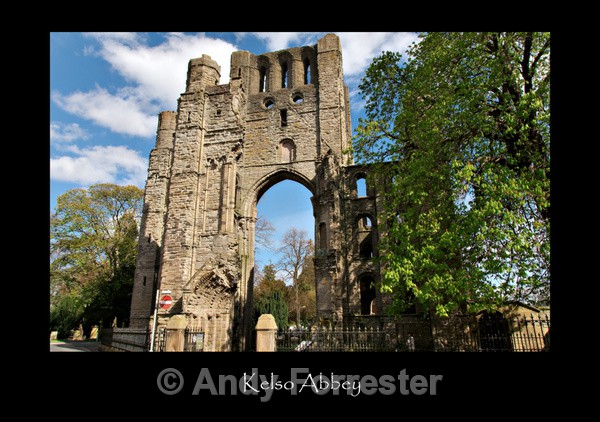 Kelso Abbey - Border Abbeys