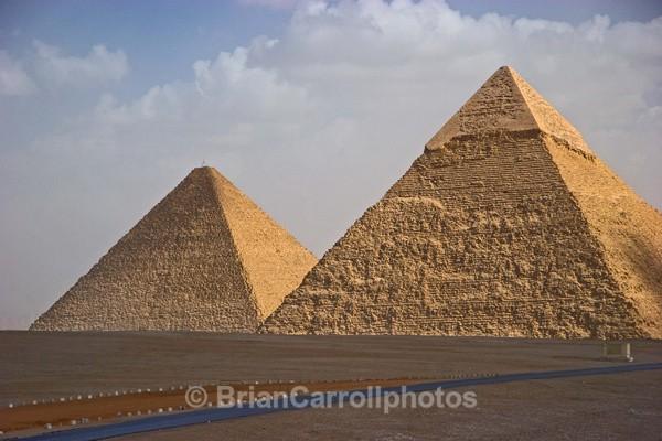 Pyramids at Gisa,Cairo,Egypt - Egypt Nile Tour 08