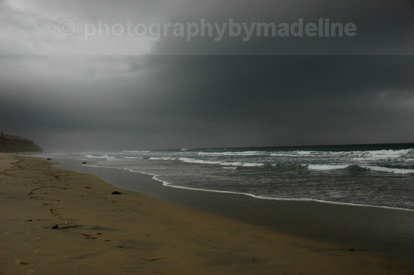 Winter Storm Approaching - Seascapes of Southern California