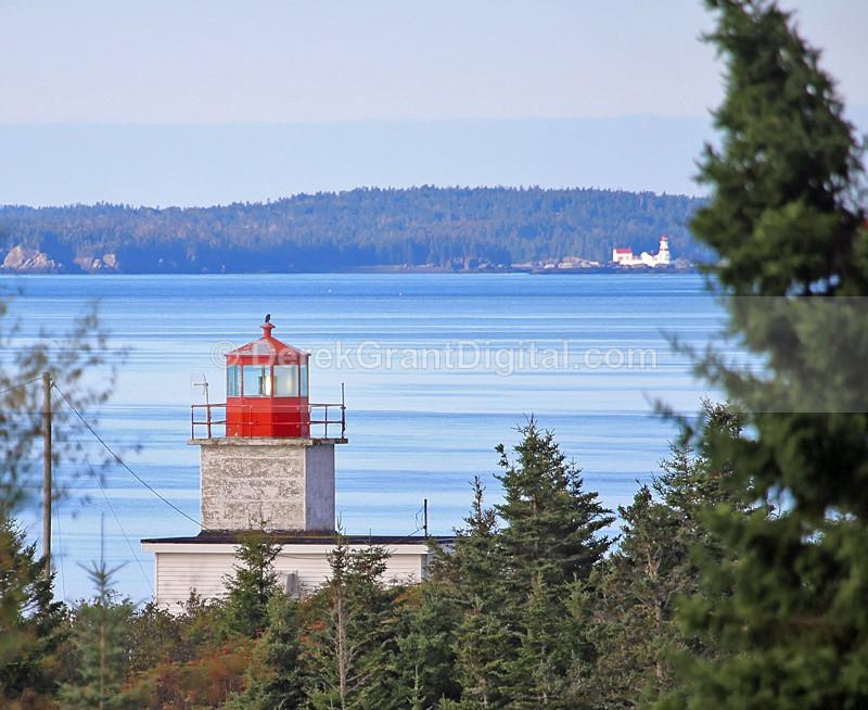 Pea Point Lighthouse Blacks Harbour New Brunswick Canada - Lighthouses of New Brunswick