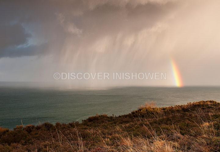 Shower vs Rainbow - Nature