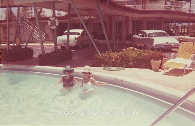 1964 motel - On Vacation