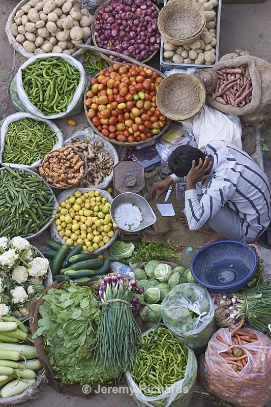 Street Market - India
