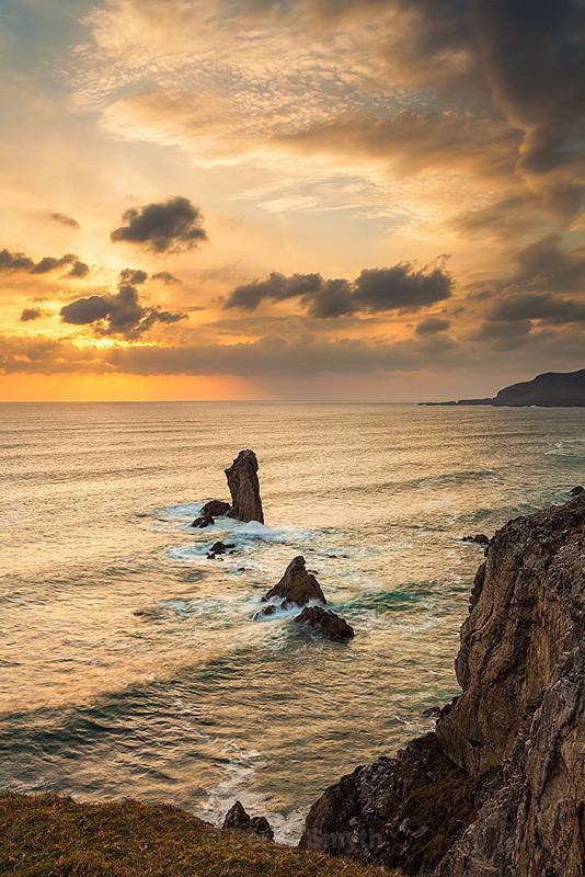 Sunset On Achill Island