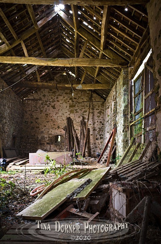 Inside Old Barn, Lydbrook. Forest of Dean and Wye Valley Portfolio by Tina Dorner Photography