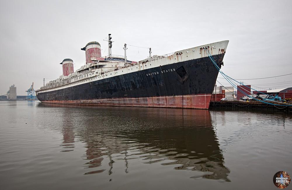 SS United States (Philadelphia, PA) | Abandoned America