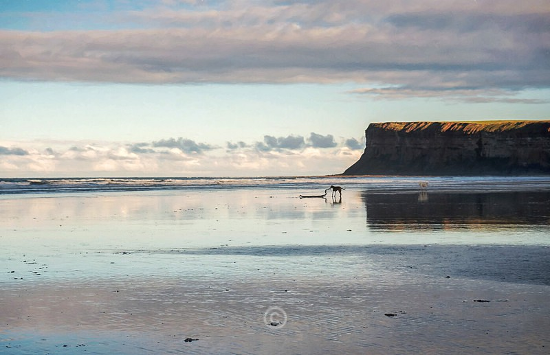 Evening at Saltburn by the Sea - North-East England