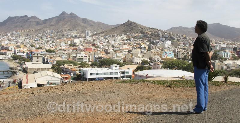 Cape Verde Islands man and town - Cape Verde Islands