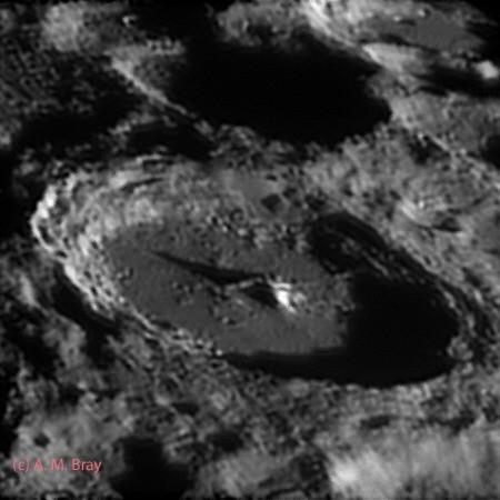 Moretus, crater