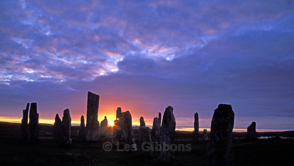 Lewis Callinish standing stone - Harris and Lewis