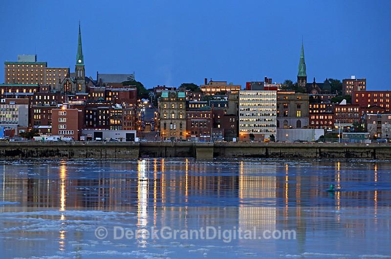 Saint John New Brunswick Canada - Harbour View - Saint John