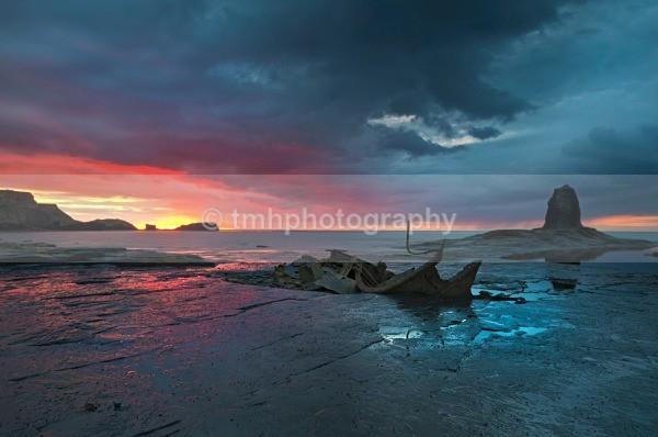 Sunset over the Yorkshire Coast. - Yorkshire Coast