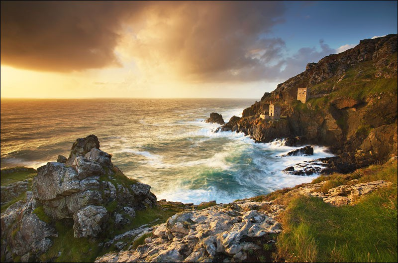 Botallack Storms - Photographs of Cornwall
