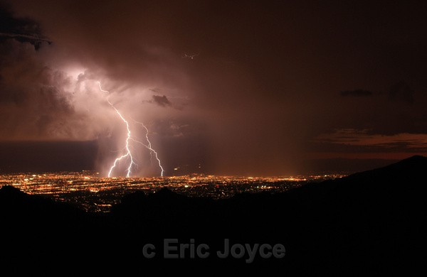September Storm - Tuscon, Arizona