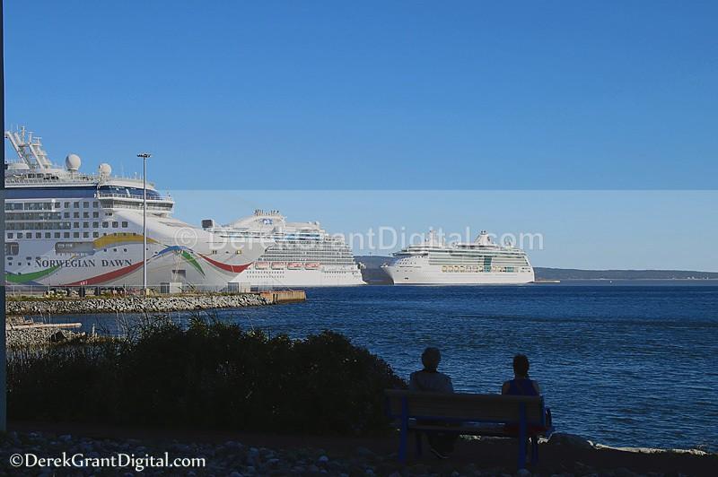 Ship Spotting Cruise Ships Saint John New Brunswick Canada - Cruise Ships