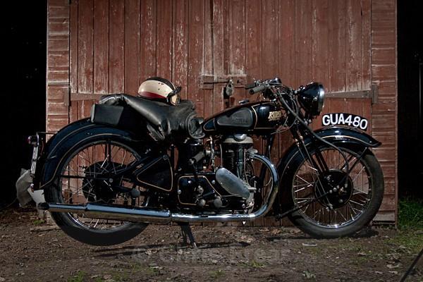 10 - Rudge Motorcycle Restoration