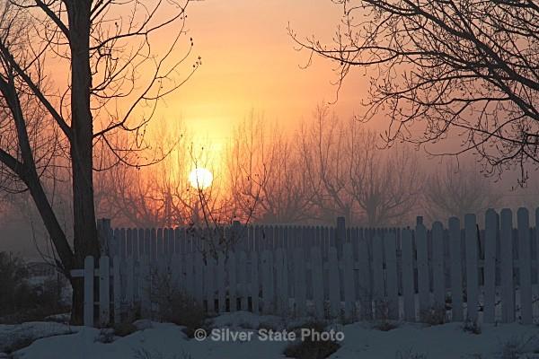 Foggy Sunset - Nevada (mostly) Landscapes
