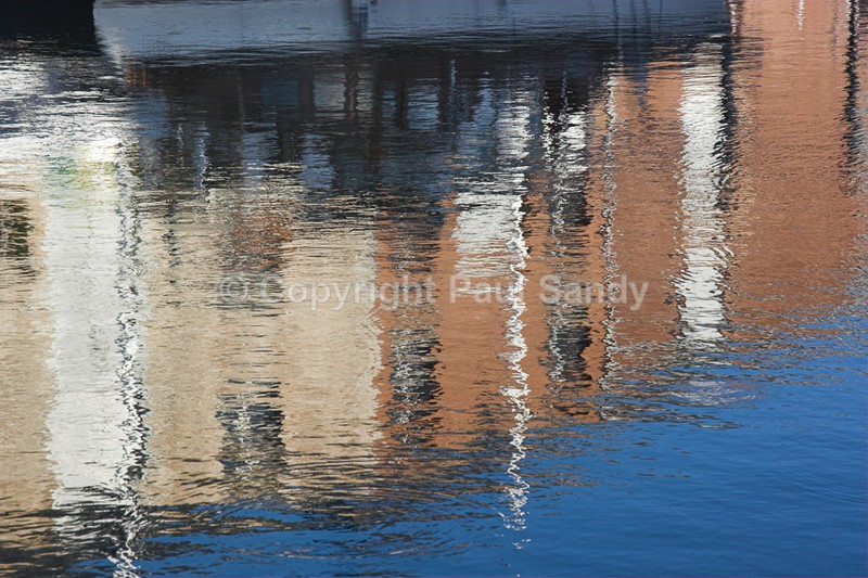 Reflections, Exeter canal basin - Featured Images