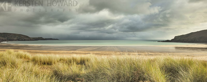 Approaching Storm - Freshwater East - Images from book