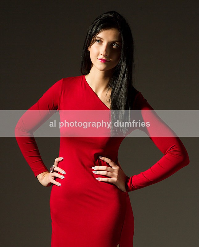 Lady in Red - Portraits