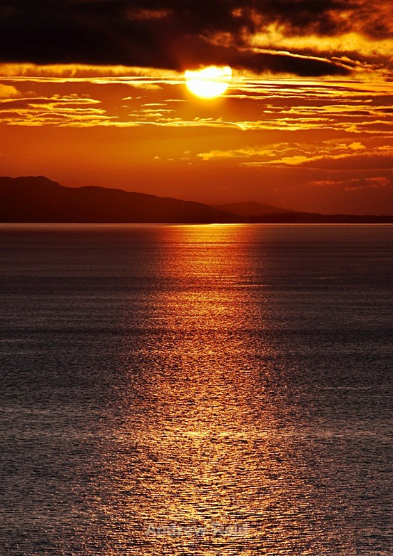 Sunset At Neist Point - Skye