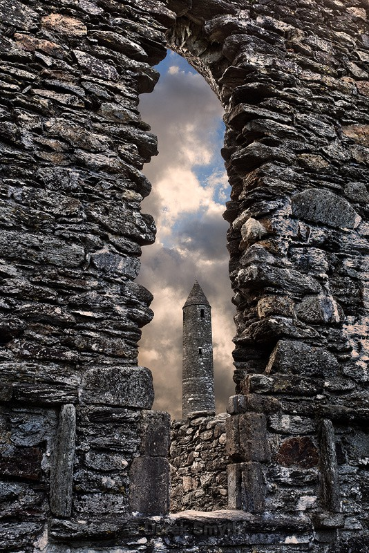 The Round Tower At Glendalough
