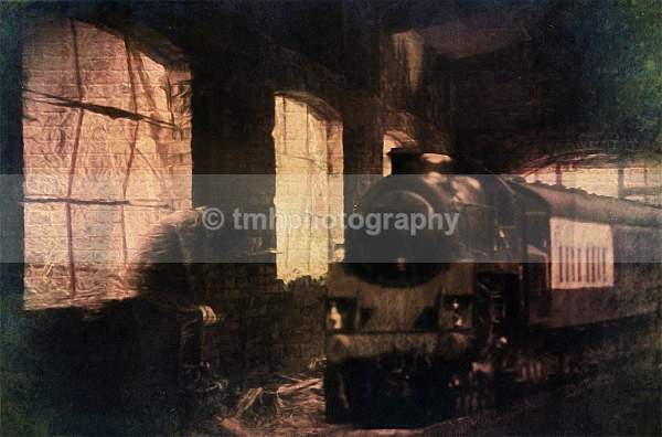 Ghost Train - Digital Photo's Enhanced